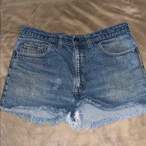 Jean shorts vintage Levi